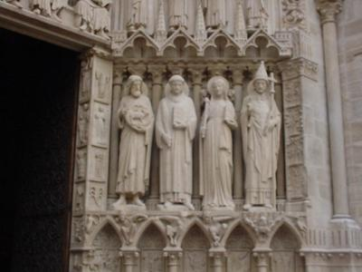 Notre Dame - Entrance Right
